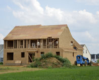 New home under construction Stock Photography