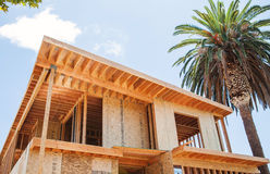 New home under construction in Los Angeles, USA Stock Photography