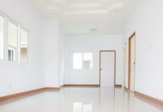 New home white hallway Royalty Free Stock Photo