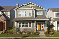 New home in Wilsonville Oregon. Stock Photos