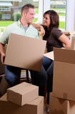New Homeowners Stock Photography