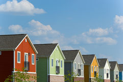 New homes Stock Image