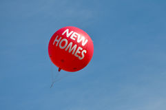 New Homes Balloon Stock Photos