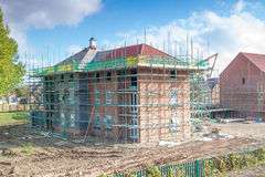 New Homes Building Site Royalty Free Stock Photography