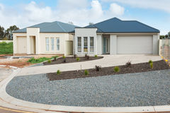 New homes construction Royalty Free Stock Images