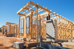 New homes construction Stock Image