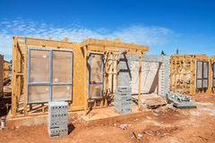 New homes construction Royalty Free Stock Photography