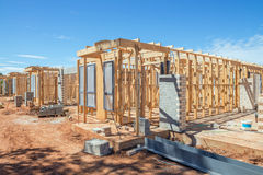 New homes construction Stock Images