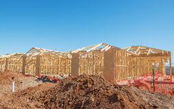New homes construction Stock Photo