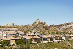 New Homes Desert Hill Royalty Free Stock Photography
