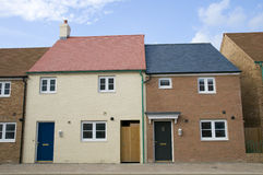 New homes , England Royalty Free Stock Image