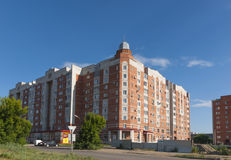 New homes of Omsk Stock Photo