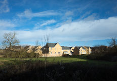 New homes. On the south side of Corby, bordering on he countryside Royalty Free Stock Images