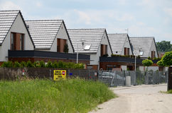 New homes in a suburb Stock Photography