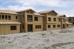 New homes under construction Royalty Free Stock Images