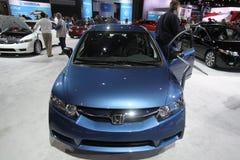 New Honda Civic. Chicago auto show February 2011 Royalty Free Stock Photos