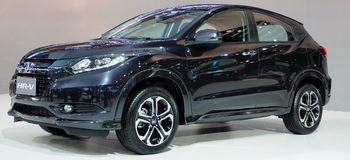New Honda HR-V at the 36th Bangkok International Motor Show Royalty Free Stock Photos