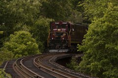 New hope train railroad Stock Image