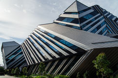 New Horizons-de bouw bij Monash-Universiteit royalty-vrije stock foto's