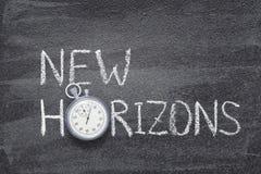 New horizons watch Stock Image