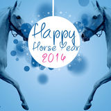 New Horse Year 2014 Stock Photos