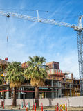 New hotel construction, Palm Springs Royalty Free Stock Photo
