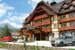 New hotel in High Tatras. Stock Photos