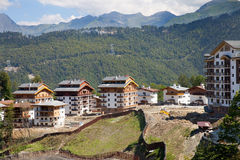 New hotels in Rosa Plateau Royalty Free Stock Photos