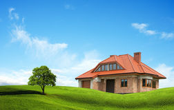 New House Royalty Free Stock Images