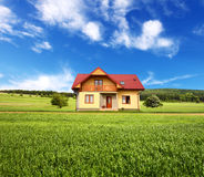 New house Royalty Free Stock Photos