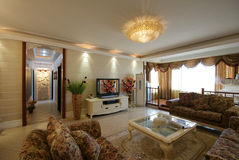 The new house. Beijing, China, the modern home decoration Royalty Free Stock Image