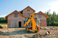 New house building stock images