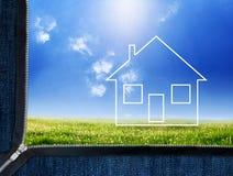New house concept Stock Photos