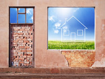 New house concept Royalty Free Stock Photo