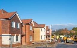 New house construction stock photos