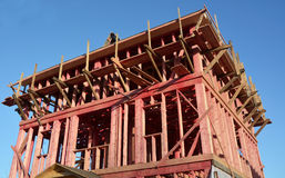 New house- construction concept Royalty Free Stock Images