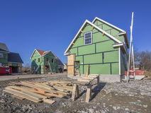 New house construction Royalty Free Stock Image