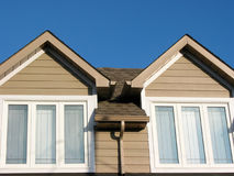 New house detail Royalty Free Stock Photography