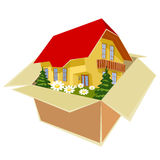 New house for everyone Royalty Free Stock Image