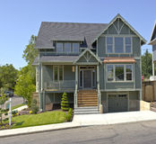 New House For Sale Portland Oregon. Stock Images