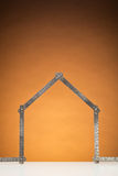 New House Frame Stock Images