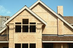 New House Home Construction royalty free stock image