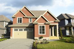New House Home For Sale BC royalty free stock photography