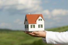 New house model Stock Photos