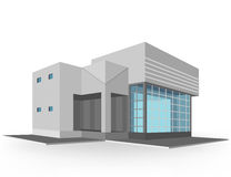 New house models vector. Design on a white background Royalty Free Stock Photos