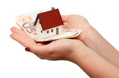 New house and money Stock Image