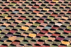 New house roof made of ceramic tile Stock Images
