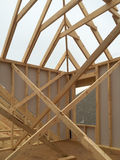A new house under construction Royalty Free Stock Photography