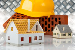 New house is under construction Royalty Free Stock Photo