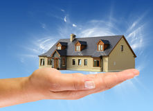 New house for you Royalty Free Stock Image